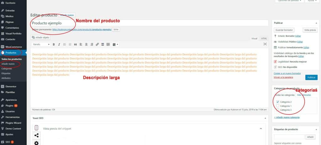 tutorial tienda online wordpress : paso 1
